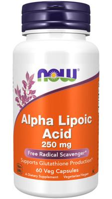 Alpha Lipoic Acid 250 mg 60 caps (фото)