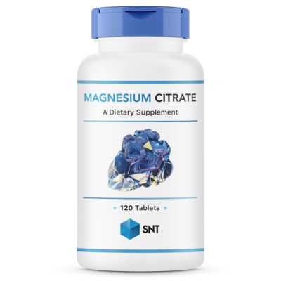 Magnesium Citrate 200 mg 120 tabs