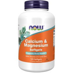 Calcium & Magnesium + vit D 120 softgels***